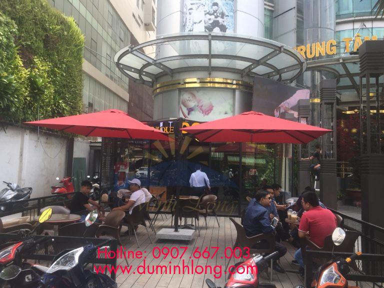 Đại lý bán dù che nắng tại quận 6 Dù Minh Long là đơn vị uy tín, chất lượng