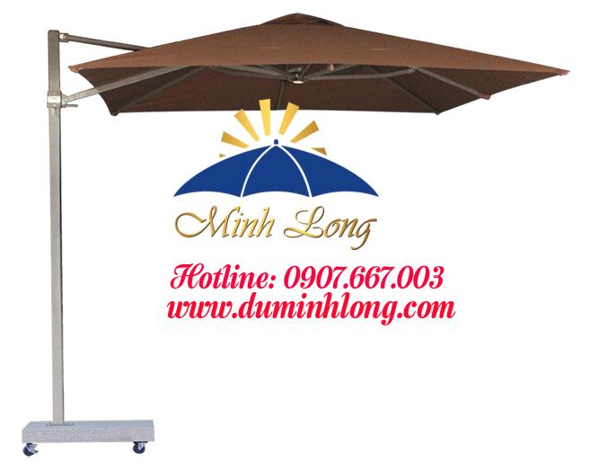 Đại lý bán dù che nắng tại quận 12 - Dù Minh Long có chất liệu vải dù cao cấp