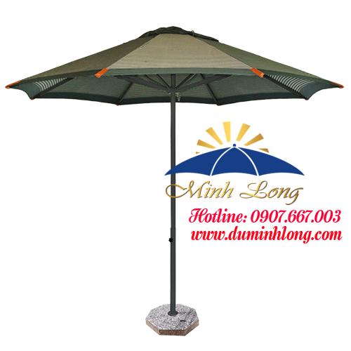 Dù che nắng tại quận 5 - Dù Minh Long được lựa chọn sử dụng trong các nhà hàng, quán cafe, trường học
