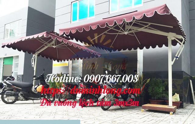 Cơ sở bán dù che nắng tại Đà Nẵng giá tốt