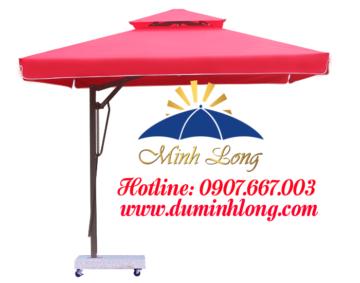 Dù che nắng tại huyện Củ Chi ngày càng được sử dụng rộng rãi