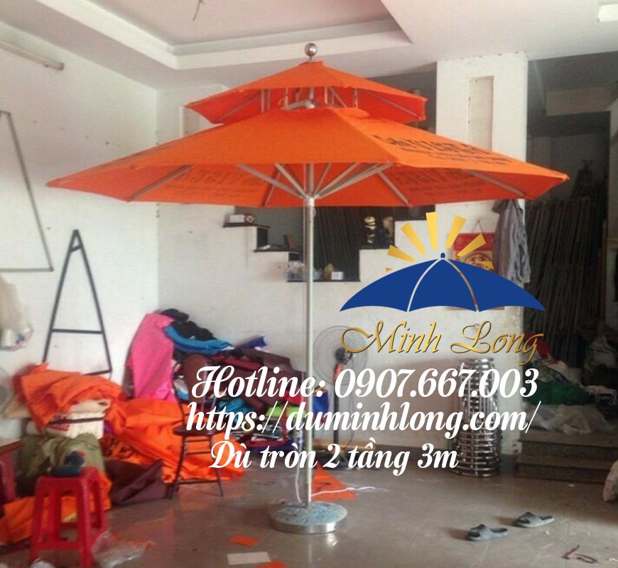 Đại lý bán dù che nắng tại quận Gò Vấp Dù Minh Long cam kết thanh toán dễ dàng