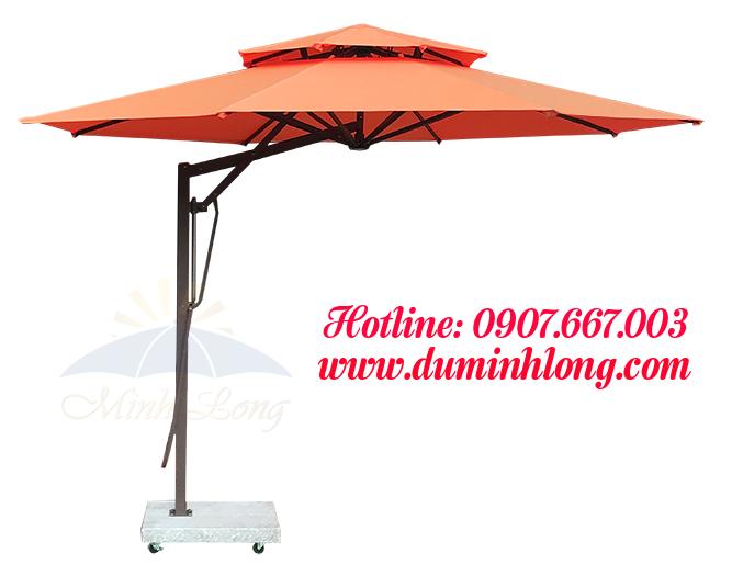 Sự chắc chắn, bền đẹp của những chiếc dù che nắng là tiêu chí hàng đầu khách hàng quan tâm